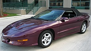 1996 Pontiac Trans Am Convertible