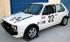 1984 VW Rabbit GTI SCCA Race Car